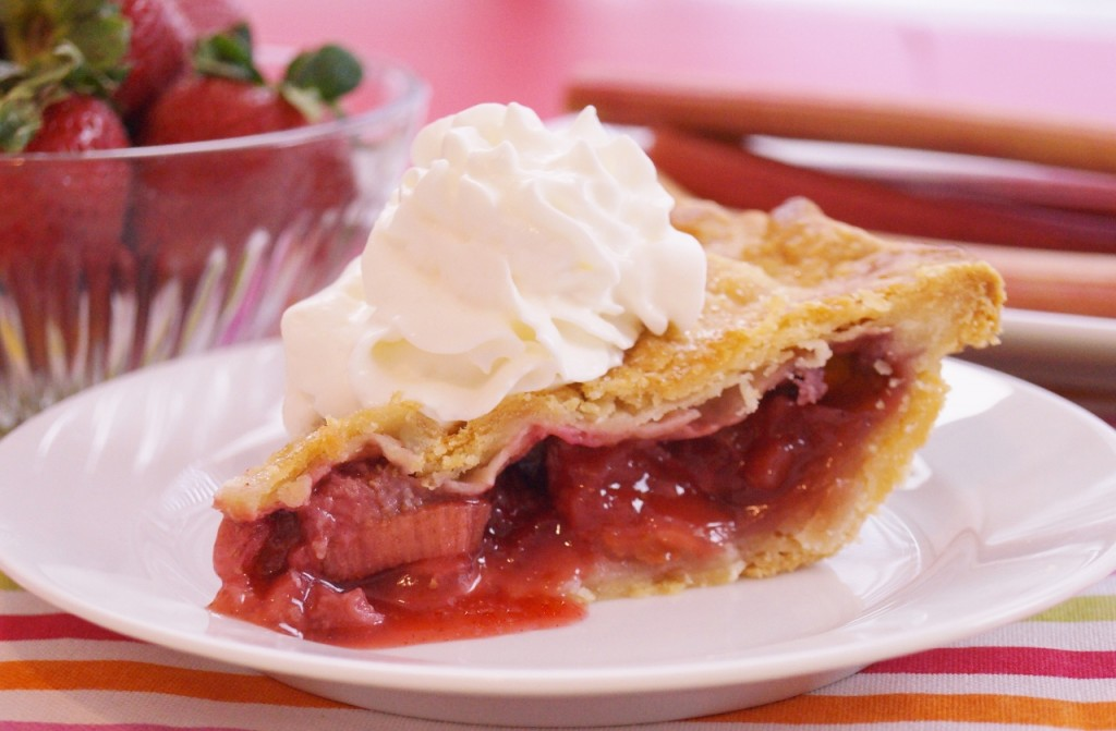 Strawberry Rhubarb Pie Recipe — Dishmaps