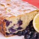 Lemon Blueberry Drizzle Bread
