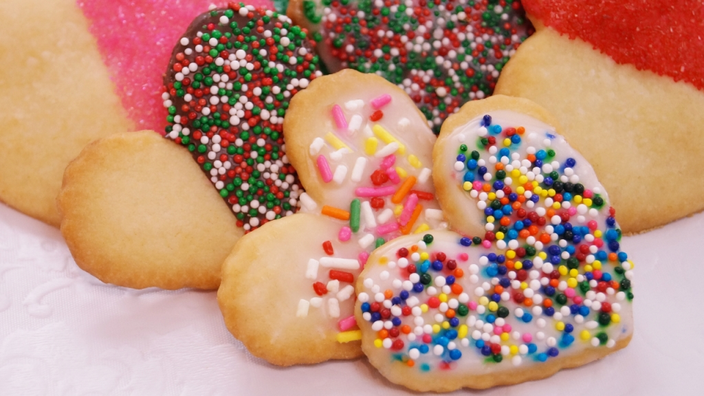 Decorated Shortbread Cookies